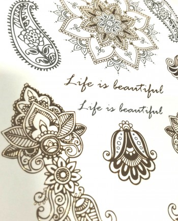 tatouage-temporaire-or-life-is-beautiful-1